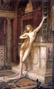 Hypatia ~ Stripped naked and murdered by christian monks in the newly christened Caesarean church