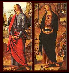Mary Magdalene as the Beloved Disciple? Did Perugino leave us a clue about the identity of Mary Magdalene?