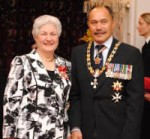 Dame Beverley Wakem (Chief Ombudsman) and Lt Gen Rt Hon Sir Jerry Mateparae (Governor General) Mateparae (New Zealand)
